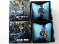 Fashion batman watch - cartoon Batman watches with boxes