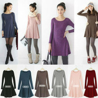Casual Fall Dresses For Women Cheap Wholesale NEW women