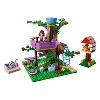 Wholesale Brand New Girls Series Building Blocks Olivia s Tree House Educatinal Figures Scene Toys for Children