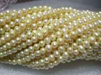 Wholesale 6 mm Champagne Akoya Pearl Loose Beads Gemstones