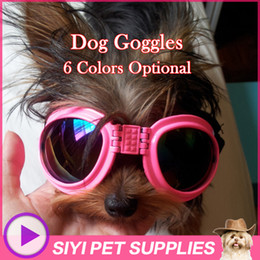 Wholesale-Fashion dog grooming glasses for dogs goggles pet grooming sunglasses dog accessories Protection from wind and rain multicolor