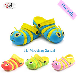 Wholesale-Summer Baby 3D Modeling Cartoon Sandals, Children Toddler Non-slip Rubber Sole EVA Slippers Slides , Boys & Girls Shoes 4