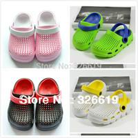 pvc sandals - children s sandals slides unisex slippers for summer PVC and EVA made smelless slip on kid s soft sandals