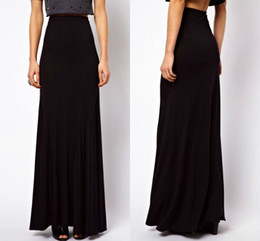 Discount Long Fitted Maxi Skirt | 2017 Long Fitted Maxi Skirt on ...