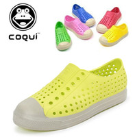 coqui shoes - NEW china brand Coqui Summer hole shoes boy and girl child sandals kid s beach shoes Soft and comfortable non slip sandals
