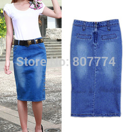 Discount Tight Denim Pencil Skirt | 2017 Tight Denim Pencil Skirt ...