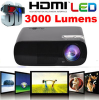 Wholesale Newest Model CT20 lumens Home Theater HD led D portable Projector proyector projektor built in speaker hrs life