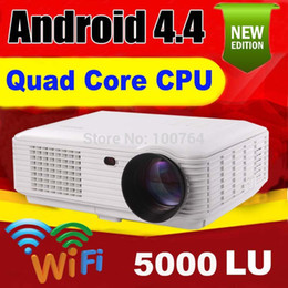 Wholesale lumens Android P wifi led projector full hd d home theater lcd video proyector projektor tv screen projetor beamer