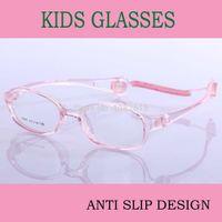 Wholesale Cute Pink Kids Children Glasses Super Light TR90 Spectacles Frame Myopia and Amblyopia Eyeglasses Fashion Prescription Eyewear
