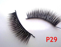 Sample Order 10pairs set New P29# black False Eyelashes Fake...