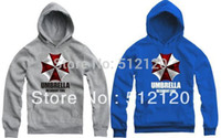 autumn corporation - sweatshirts for kids cm Resident Evil Biohazard logo printed Umbrella Corporation symbol Pullovers Color