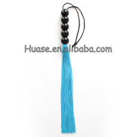 flogger - sexy fancy flogger bead handle flogger novelty flogger
