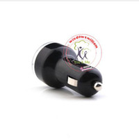 Wholesale Car Charger for iPad iPhone iPod USB Powered gadgets Dual USB Port Black