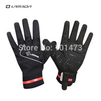 Wholesale Hot Winter Gel Pad Full Finger Cycling Gloves Bike Gloves Bicycle Windstopper Gloves Mittens Bike Accessories FS6056