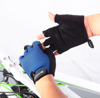 bicycles youth - Roswheel Fashion Man Woman Youth Cycling Bike Bicycle Half Finger Gloves Size M L XL XXL Freeshipping Dropshipping