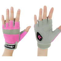 bicycle riding exercise - SANTIC Bicycle Cycling Half Finger Gloves ciclismo luva MTB Motorcycle Riding Exercise Bike Fitness Fishing fingerless Gloves