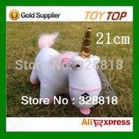 Cheap Wholesale-New Hot 3D Despicable Me Minion Minions Fluffy Unicorn Plush Pillow Toys Doll Stuffed Toys,Plush Animals,21cm 1pc