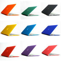 Wholesale Clear Matte Rubberized Hard Case Cover colors For Apple Macbook Air inch