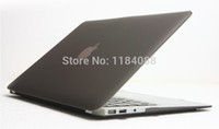 Wholesale Frosted Matte Crystal Laptop Hard Case For Macbook White quot Model A1342 Case Cover Protective Shell Skin