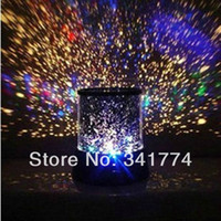 Wholesale LED Planetarium Night Lights Starry Sky Star Master Projector Lamp Creative Gift for Kid Bedroom Party Cristmas Luminaria Decor