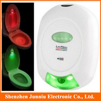 auto sensor suppliers - Novelty Auto Sensor LED Energy efficient Toilet Light Supplier With Red Green Light Good home LED Suppliance
