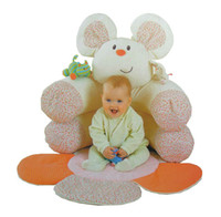 baby rats - In Stock ELC mouse rat Blossom Farm Sit Me Up Cosy Baby Seat Baby Play Mat Gym Small Baby game pad