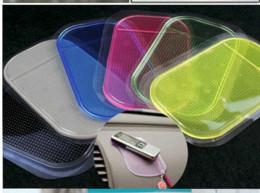 Новый Силикагель автомобилей Мат Магия Sticky Pad против скольжения Номера скольжения Коврики для iPhone 4 5 6 5C iphone MP4 GPS Samsung