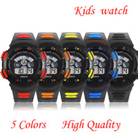 Wholesale High Quality kids watches Cheaper sports digital watch silicone watches colors Waterproof for boy s Gift A501