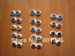 Muñecas del bjd en Línea-Al por mayor-20 piezas de acrílico RENACIDO MUÑECA OJOS 1.4 Diámetro 16MM-- 9 # ovalados OJOS BJD RENACIDO