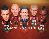 Wholesale Football quot Figurine Mixed Order Doll Toy Figure For