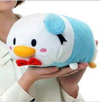 achat en gros de jouet nano-Gros-gros 12inch 2,015 Japon chaud TSUM TSUM Toy Mickey Mouse, Donald Duck puce Dale pendentif poupée pour Kid téléphone