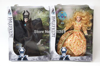 Wholesale inch Anime Maleficent doll Classic Girls brinquedos Collection doll toy with out box in