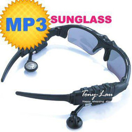 Wholesale 4gb MP3 glasses sunglasses MP3 player glasses MP3 player