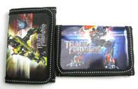 Wholesale 36pcs Transformers Kids Wallets purse oin Purse wallet Zero wallets