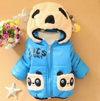 autumn jacket band - Retail Baby Boy girl Hoodies band hoodies kicking panda kids coat cartoon children jacket clothes