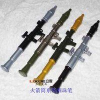 Wholesale Free ship pc Rocket launchers ball pen Creative pen funny pen
