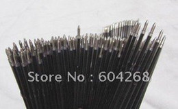 Wholesale-Unique Syringe Pens Refills Ball point refill Black color 500pcs lot Free Shipping