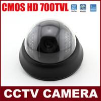 Wholesale HD CMOS TVL Indoor Dome Camera CCTV Night Vision Surveillance Camera IR Distance M MM Lens