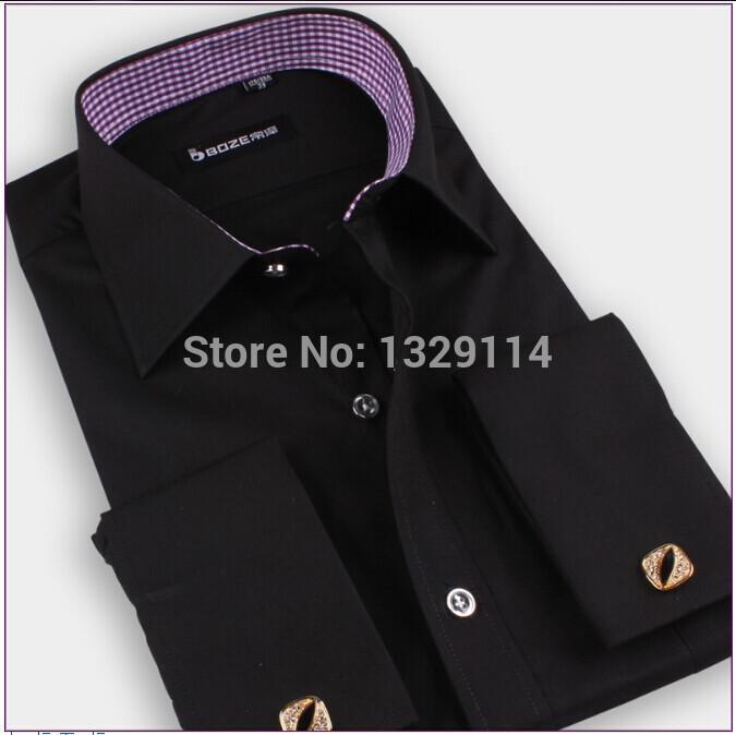 Best wholesale xs xxxxl slim fit tuxedo shirts mens french for Best slim fit tuxedo shirt