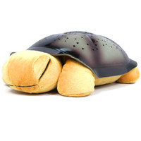 Wholesale turtle night light for children starry sky Wonderful gifts for kids lull colors musical retail box USB