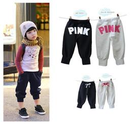 Wholesale Kids Girls amp Boys Harem Pants Calca Saruel Menino Calcas Masculinas Pantalones Boys Trousers Joggers Pantalones de deporte