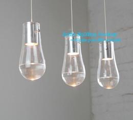 Wholesale Light Hot Selling lustres home luminaire Anta Drop Waterdrop Modern Pendant Light Fashion Fixture