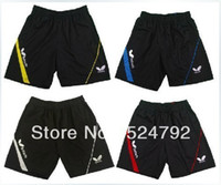 Wholesale Butterfly men s table tennis clothing badminton game Shorts new colour