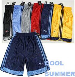 Wholesale-Free Shipping Sports Shorts Good Quality Low Price Football Shorts Basketball Shorts 3pc Lot