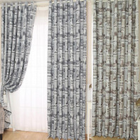 Wholesale Scolour Newspapers Pattern Door Window Curtain Drape Panel Valances