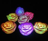 merchandise - Colorful Night Light Night Light Colorful roses advertising gift merchandise lights