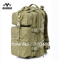 ykk waterproof zipper - Top Quality Maxgear Backpack P Attack Tactical Backpack Waterproof Army Backpack D CORDURA NYLON YKK ZIPPER
