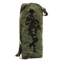 Borse Wholesale-IMIXBOX soldato tattico Zaino Canvas Men viaggio Marca Maschio viaggio Duffle Bag all'ingrosso Nuovo CHIC! W2024