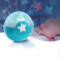 baby soothing sounds - NWB Baby Crib Soothing Night Light Projector with Music Table Top Night Lamp with Smart Sound Sensor