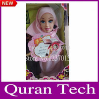 alphabet dolls - Islamic gift for kids muslim talking doll with quran reading islamic toys with packing box